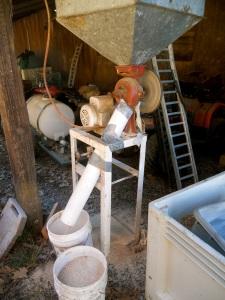 grinding grain
