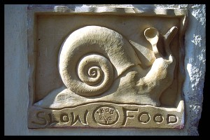 Slow Food snail